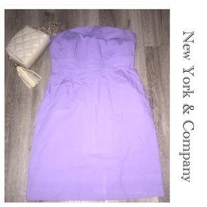 New York &Co. Strapless Dress